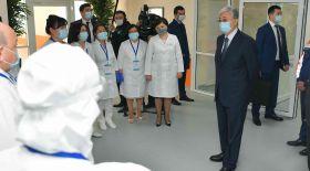 Президент медицина қызметкерлерін кәсіби мерекесімен құттықтады