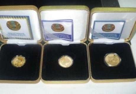 Қысқы Азия ойындарына арналған «Алтын тиын» аукционда сатылды