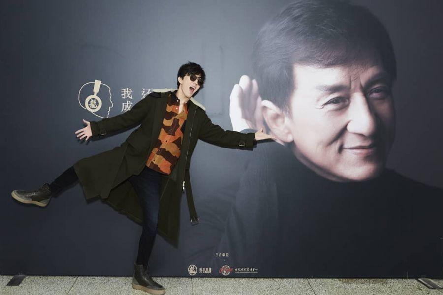 Димаш саундтрегін орындаған Джеки Чанның жаңа фильмі шығады