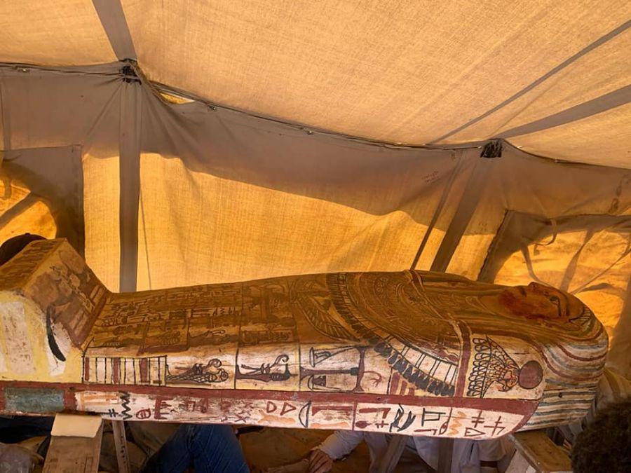 Мысырдан 2500 жыл бұрын көмілген саркофаг табылды