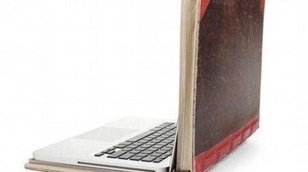 Ноутбук ұстаймыз - ал кітапты сүйеміз