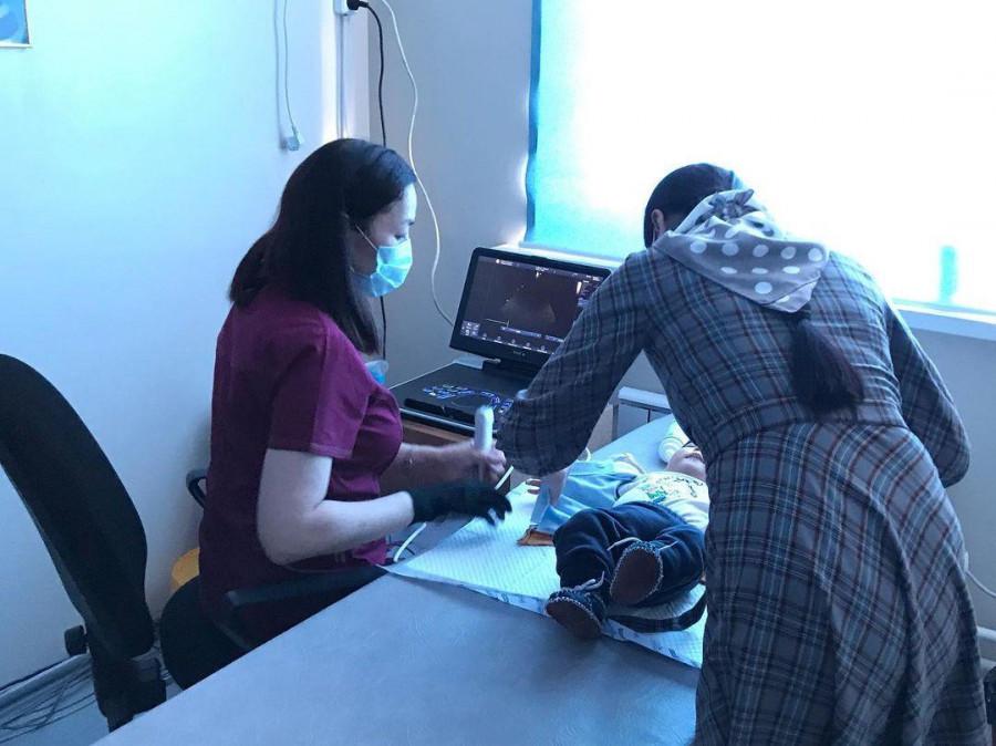 Жүрек-қантамыр жүйесі дерті бар балаларға консультациялық-диагностикалық көмек көрсетілді