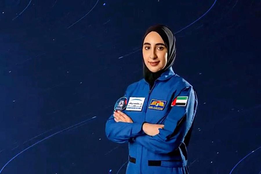 Алғаш рет араб әйелі ғарышқа ұшады
