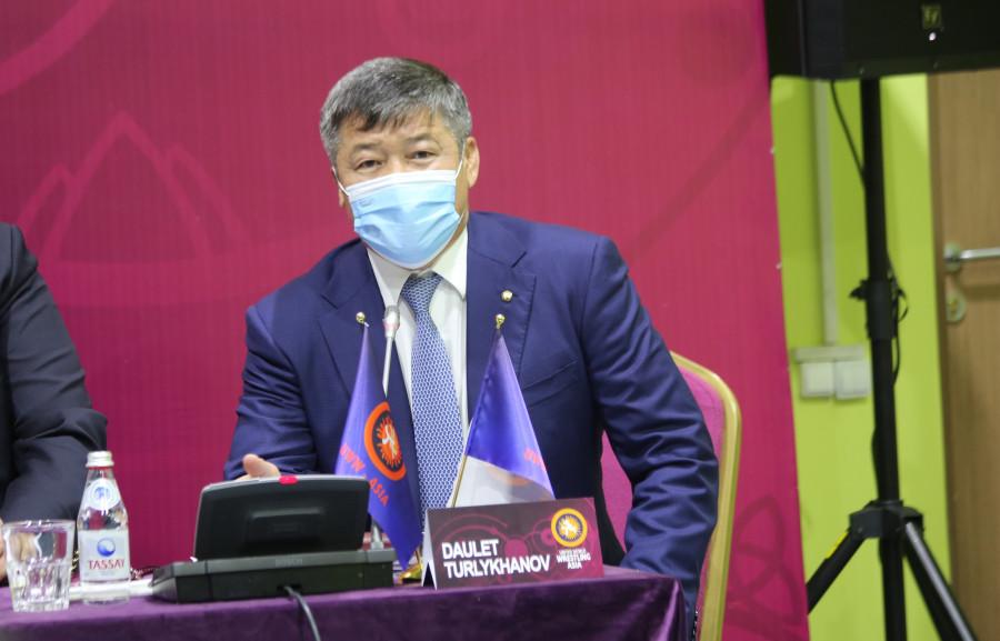 Дәулет Тұрлыханов UWW Asia президенті қызметіне қайта сайланды