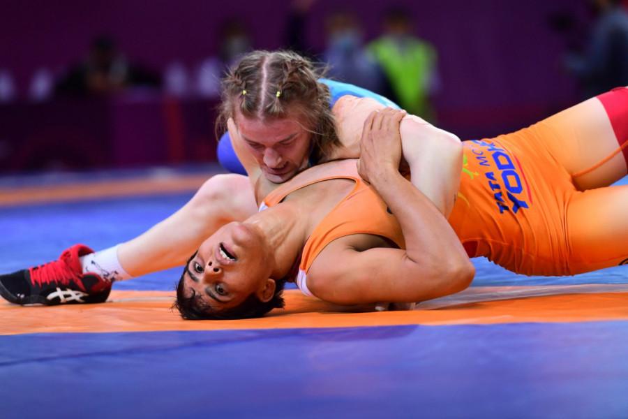 Балуан қыз Валентина Исламова-Брик Азия чемпионы атанды