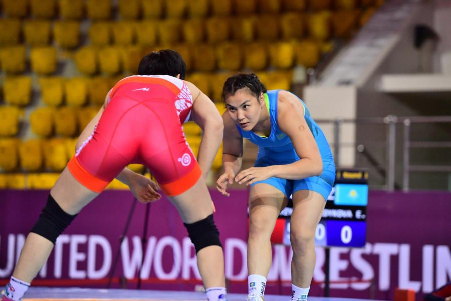 Эльмира Сыздықова – Азия чемпионы