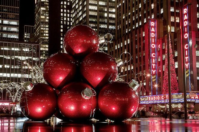 Нью-Йорк қаласындағы жаңа жылдық сән
