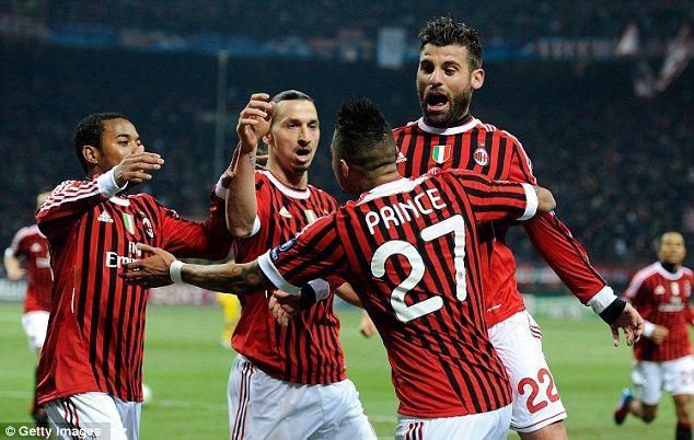 Милан-Арсенал: 4-0