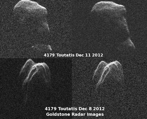 Жер маңынан ұшып өткен астероидтың суреті жарияланды