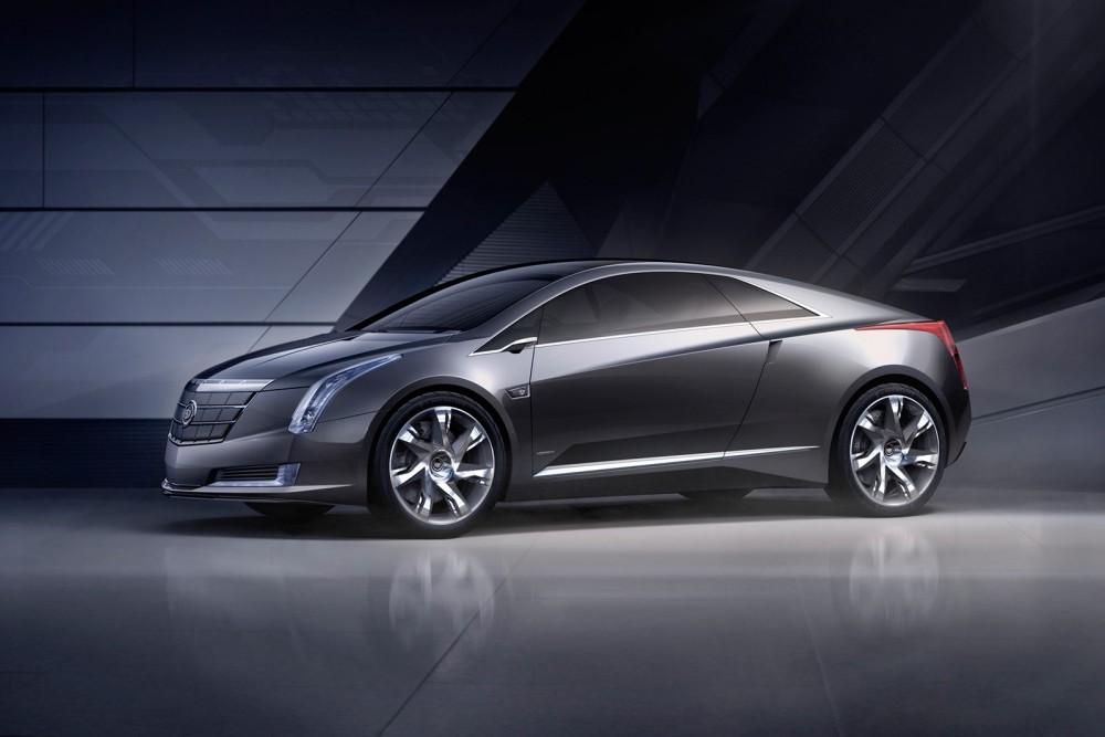 Электр энергиясымен қозғалатын Cadillac ELR автокөлігі