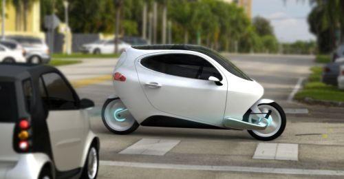 Lit Motors C-1 жаңа электромобилі