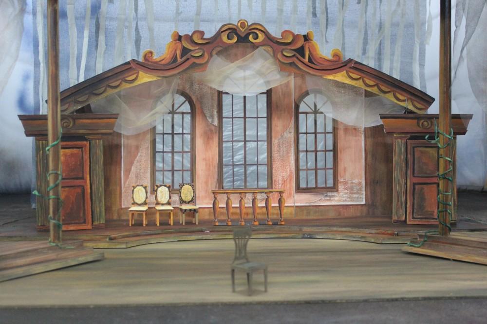 Театр сахнасы қалай жасалады?