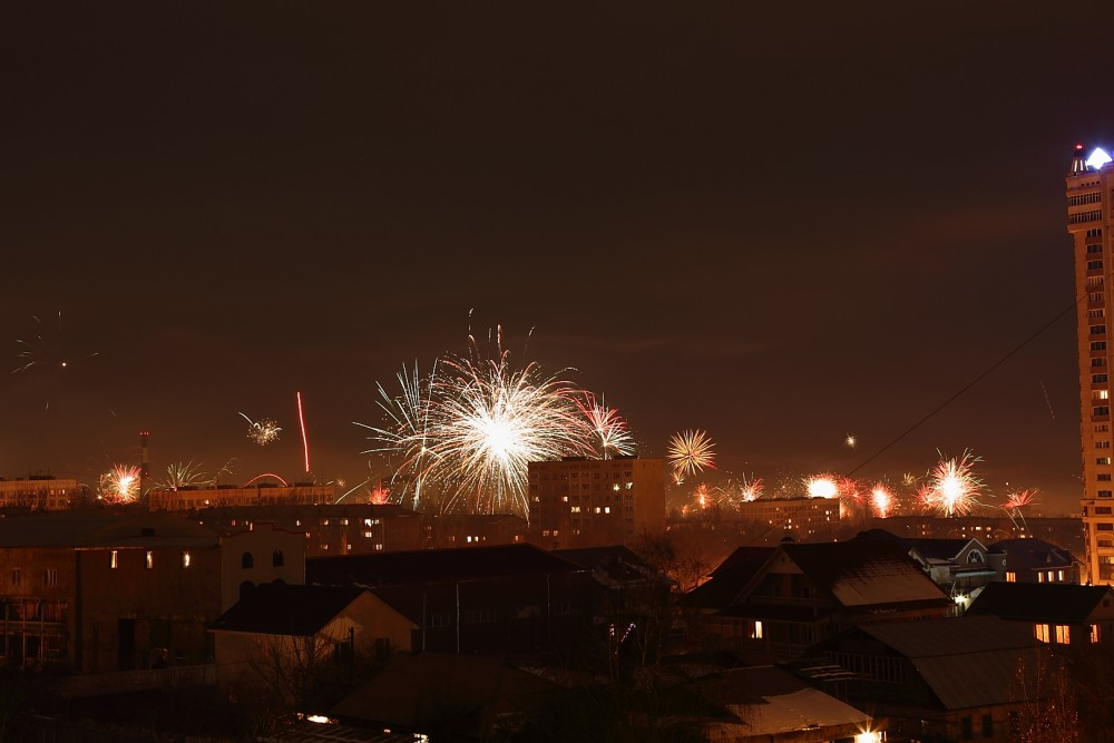 Жаңа жылды алматылықтар жылы ауа-райымен қарсы алады