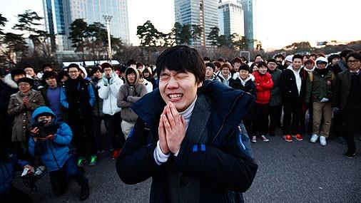 Оңтүстік Кореяда өткен ерекше флешмоб