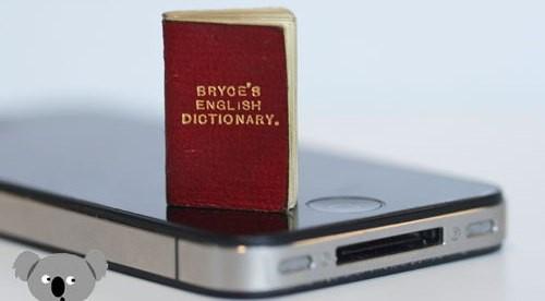Ең кішкене сөздік әлемдегі ең қымбат кітаптар қатарына енді