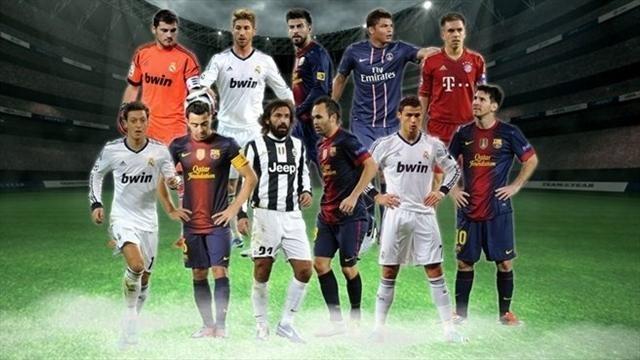 УЕФА-ның жыл құрамы анықталды