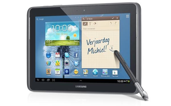 Samsung 8 дюймды Galaxy Note планшетін дайындауда