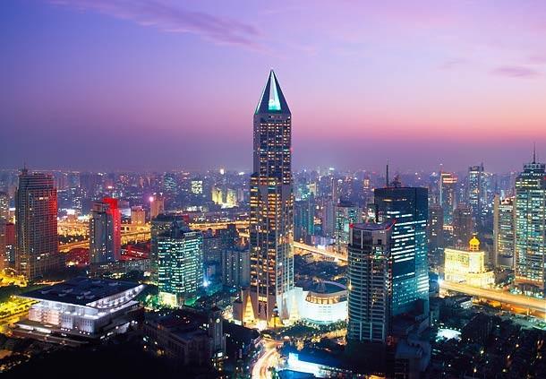 Шанхай қаласындағы ең ірі түсел