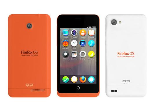 Firefox OS операциялық жүйесімен алғашқы смартфон жарық көрмек