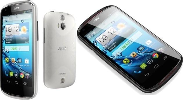 Liquid E1 – Android Jelly Bean негізіндегі Acer ұсынған смартфон