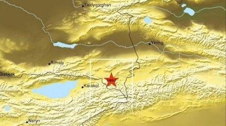Жер сілкінісі Алматыдан 230 км қашықтықта болды