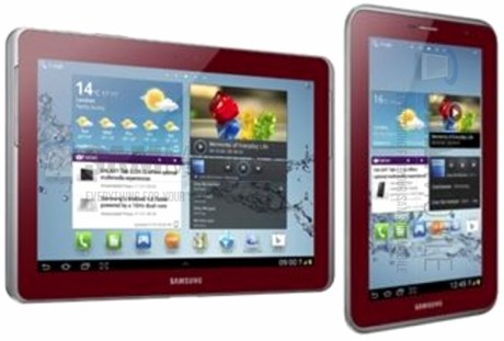 Samsung компаниясы Galaxy 2 7.0 планшетін қызыл түспен шығарды