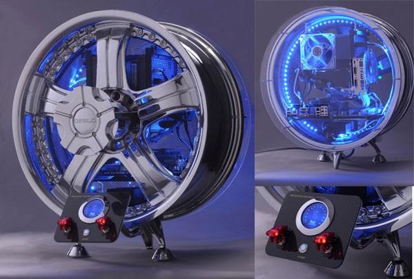Diablo wheel — автокөлік дискісіне орнатылған компьютер