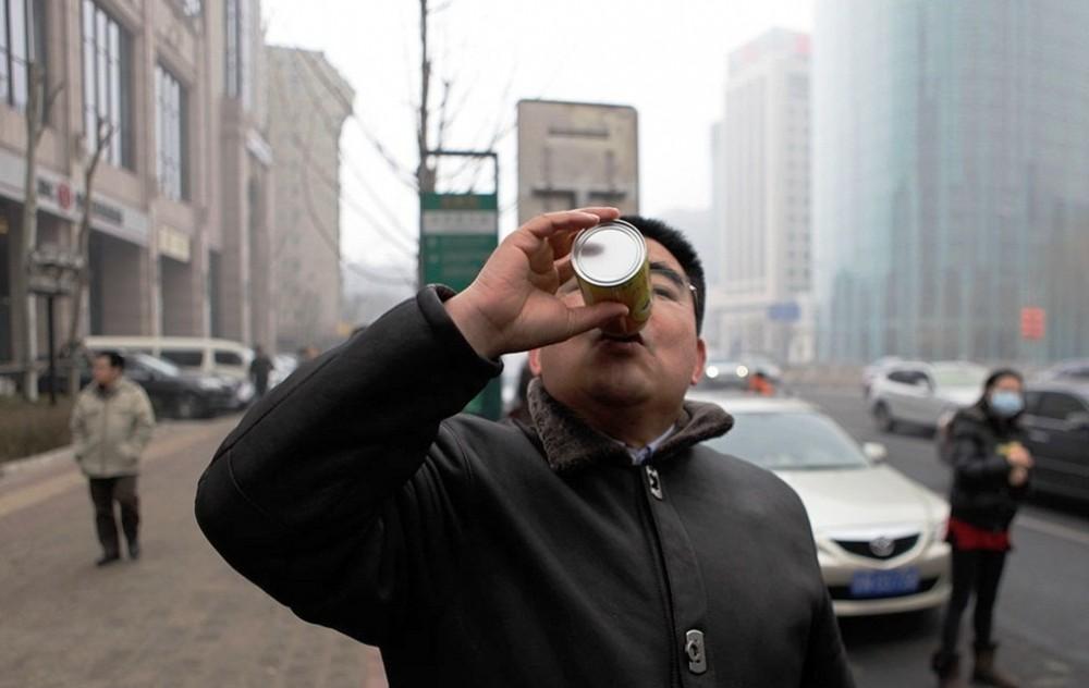 Пекинде ауа сатыла бастады