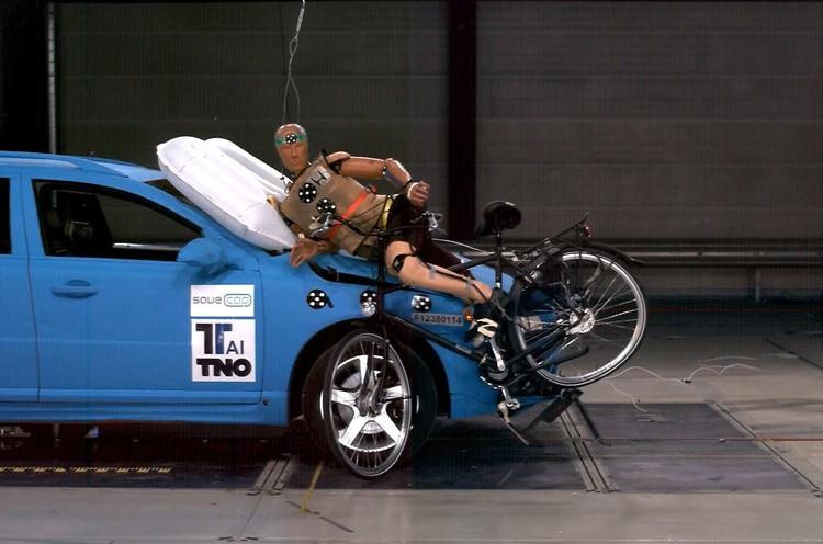Велосипедке арналған қорғаныс көпшігі