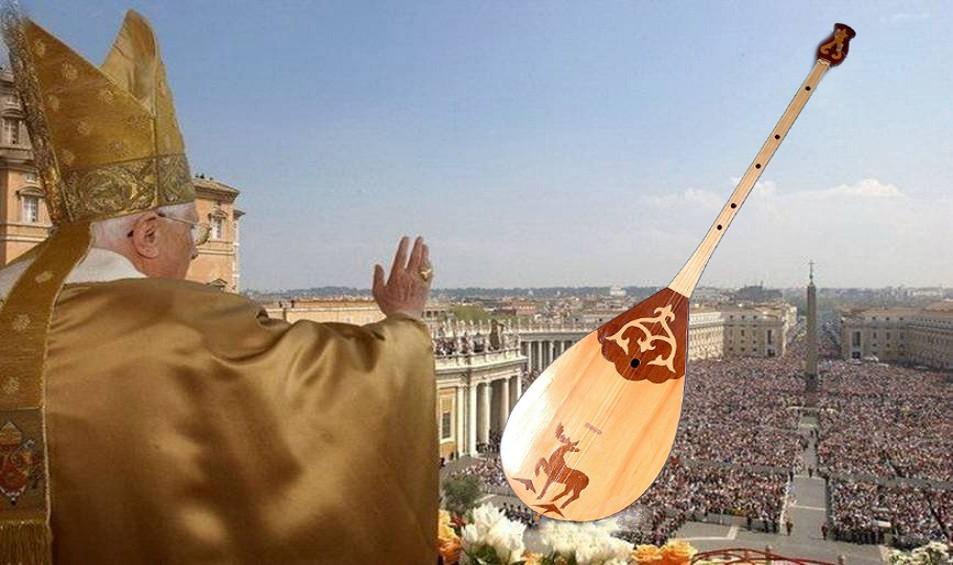 Рим Папасы қазақ ән-күйін екі сағат бойы тыңдады