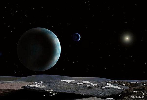 Жерге жақындап келе жатқан астероид бинокль арқылы көрінеді