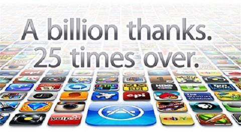 iTunes-те жүктелім саны 25 миллиардқа жетті