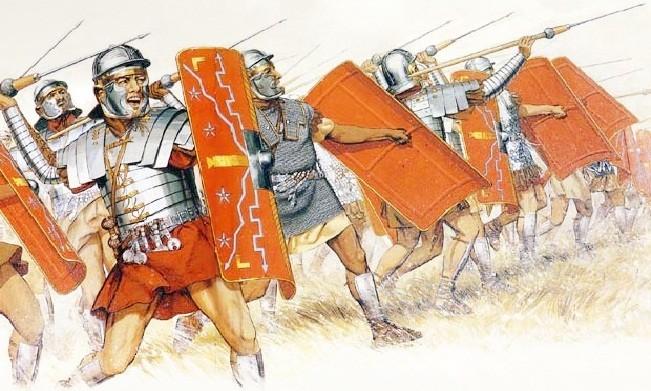 Рим әскерінің әуелгі сөздері