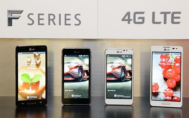 LG Optimus-тың F5 және F7 модельдерін ұсынды