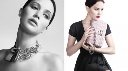 Дженнифер Лоуренс - жаңа  Miss Dior