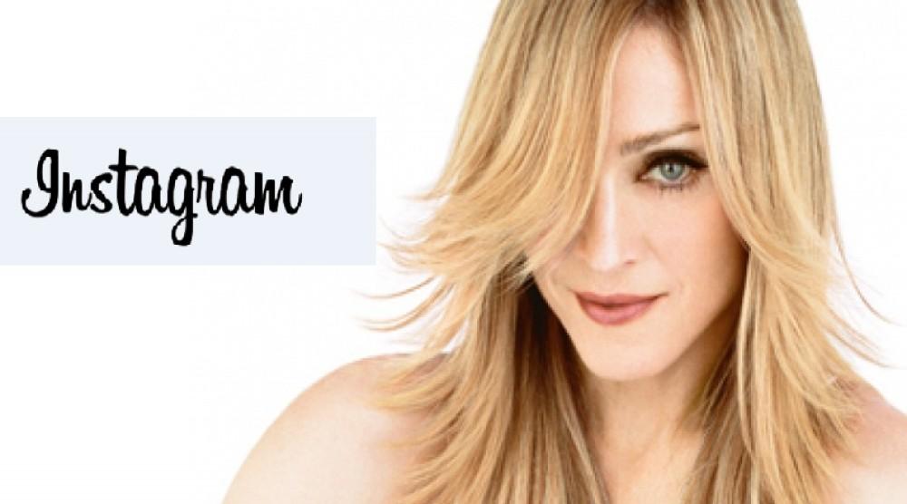 Instagram Мадоннаны қорқытты