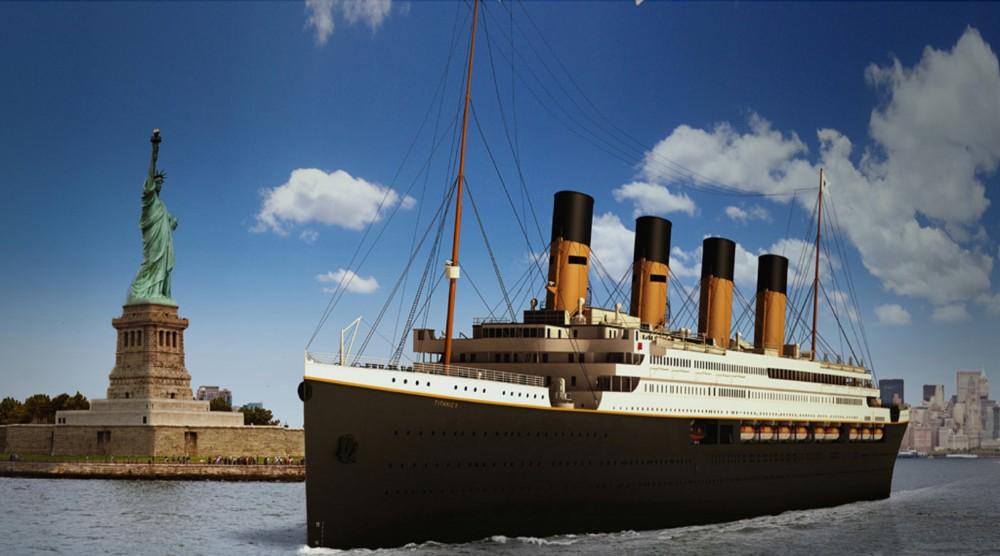 «Титаник ІІ» таныстырылды