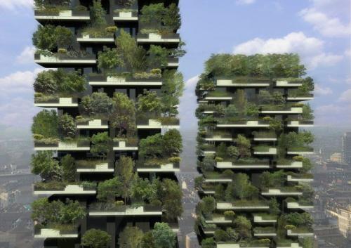 Миланда вертикалды орман тұрғызылады
