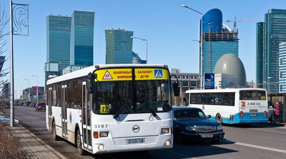 Астанада автобустардың қозғалыс бағдарлары өзгереді