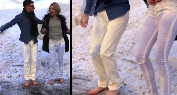 Реңі өзгеретін джинсылар