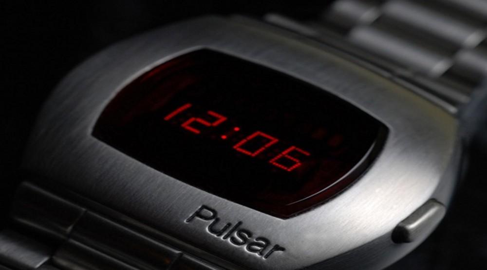 Pulsar LED сағаттарымен танысу