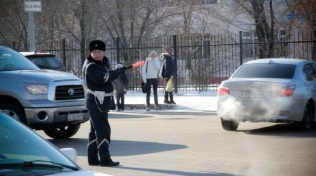 Астана жолдарымен апатқа ұшыраған автокөліктер жүріп өтті