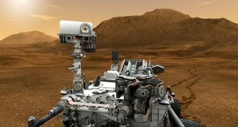 Curiosity Марстан судың іздерін тапты