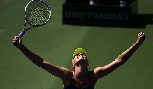 Мария Шарапова Индиан-Уэллс турнирінде топ жарды