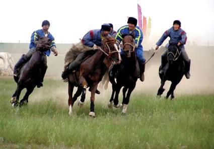 Көкпар - ұлттық ат спорты ойыны