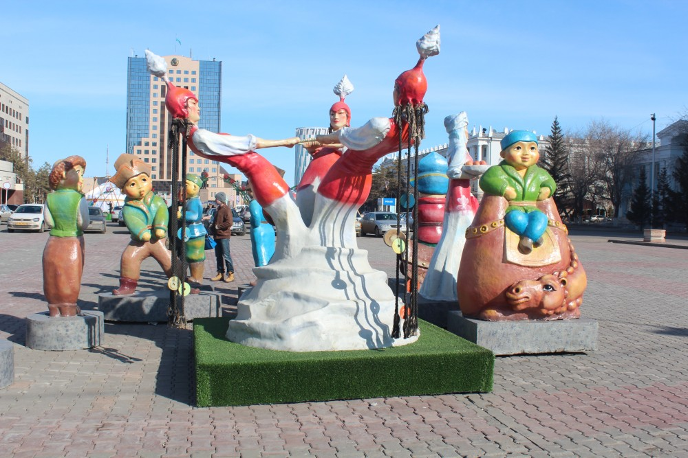 22 наурыз. Астана Орталық алаңындағы Наурыз тойы