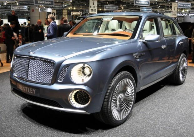 Bentley-дің бірінші джипі