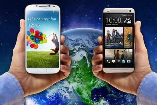 Galaxy S4 және өзге 5 смартфон
