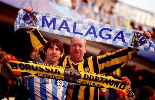 Чемпиондар Лигасы. «Малага» мен «Боруссия Д» тең тарқасты
