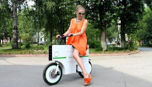 ZeitEco: қыдыруға арналған скутер (ВИДЕО)